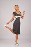 Retro- Kleid Stockfoto