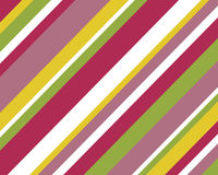 Retro kleurrijke strepenachtergrond Stock Fotografie
