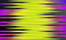 Retro Kleurrijke Strepenachtergrond - Digitaal Grafisch Ontwerpbehang vector illustratie