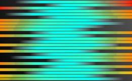 Retro Kleurrijke Strepenachtergrond - Digitaal Grafisch Ontwerpbehang stock illustratie