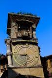 Retro klocka och mekanism i Batumi Fotografering för Bildbyråer
