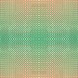 Retro- Knöpfe, geometrisches nahtloses widergespiegeltes Muster des Rasters Stockfoto