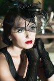 retro kobieta Zdjęcia Stock