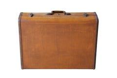 Retro- Koffer Browns Lizenzfreie Stockbilder