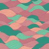 Retro kolorów bezszwowy wzór Fotografia Royalty Free