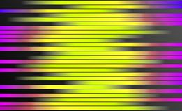 Retro Kolorowy lampasa tło - Cyfrowego Graficznego projekta tapeta zdjęcie stock