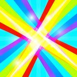 Retro kolorowy tło ilustracja wektor