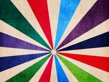 Retro kolorowy tło Fotografia Royalty Free