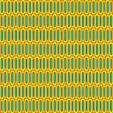 Retro komórka wzór ilustracji