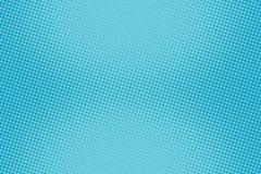 Retro- komisches blaues Hintergrundraster-Steigungshalbton stock abbildung
