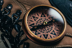 retro kompas Fotografia Stock