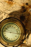 retro kompass Arkivbild