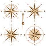 Retro- Kompassse Stockbilder