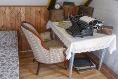 retro kontor Arkivbild