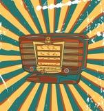 Retro- Konzertplakat Lizenzfreies Stockbild