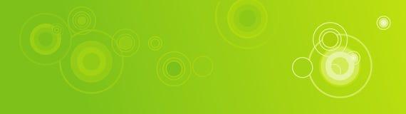 Retro kopbal/de Banner van het Web Stock Fotografie