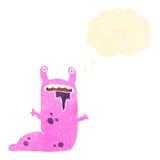 retro kreskówki podrożec obcy potwór Fotografia Stock