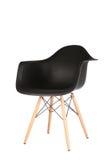 Retro krzesło odizolowywający na białym tle Fotografia Royalty Free