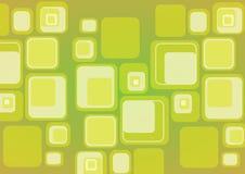 Retro kubusachtergrond Stock Afbeeldingen