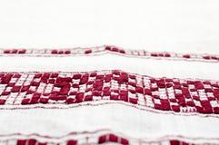 Retro kuchenny ręcznik Zdjęcia Royalty Free