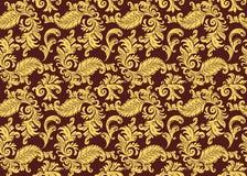retro kwiecisty ornament Obrazy Royalty Free