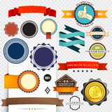 Retro Label Collection Royalty Free Stock Image