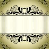 Retro label design Royalty Free Stock Photography