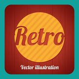 Retro Label Royalty Free Stock Images