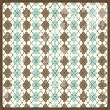 Retro label. Over pattern background  illustration Stock Images
