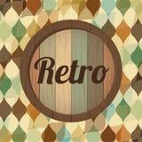 Retro Label Stock Image