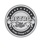 Retro label Royalty Free Stock Photos