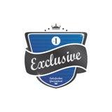 Retro label sticker Royalty Free Stock Image