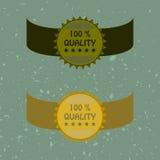 Retro labels Stock Photo
