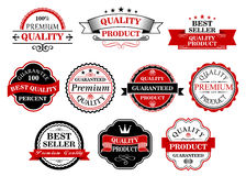 Retro labels and banners for retail Royalty Free Stock Image