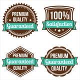 Retro Labels Stock Image