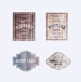 RETRO LABELS06 Royalty Free Stock Photos