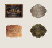 RETRO LABELS05 Royalty Free Stock Photography