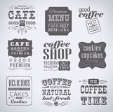 Retro labels and typography, Stock Photo
