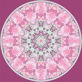 Retro lace circle.Mandala. Royalty Free Stock Images