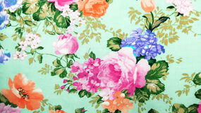 Retro Lace Floral Seamless Pattern Fabric Background Stock Images