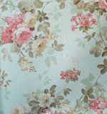 Retro Lace Floral Seamless Pattern Fabric Background Vintage Style royalty free stock images