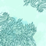 Retro lace grunge background Royalty Free Stock Photo