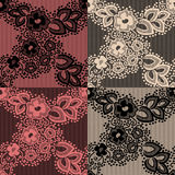 Retro lace pattern Royalty Free Stock Photo
