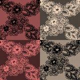 Retro lace pattern Royalty Free Stock Photo