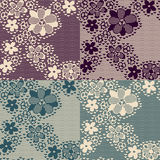 Retro lace pattern Royalty Free Stock Images