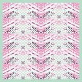 Retro lace pattern. Royalty Free Stock Photography