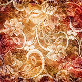 Retro lacy background Royalty Free Stock Image
