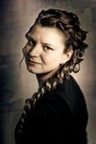 Retro Lady Royalty Free Stock Photography