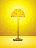 Retro lamp background Royalty Free Stock Photos