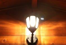 Retro lamp detail Royalty Free Stock Photography